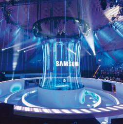 Tulle spécial pour projections 3D XL