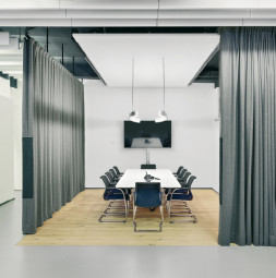 SOUND CURTAIN OFFICE