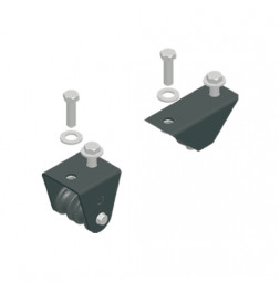 KING Pulley Set for Single Track Systems, 2 Pieces, Bottom Cord