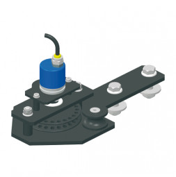 KING Return Pulley with Integrated Incremental Encoder for Top Cord Operation