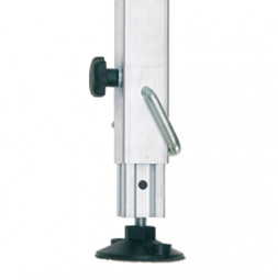 Telescopic Legs with Notched Stopper 45x45x2,5 mm