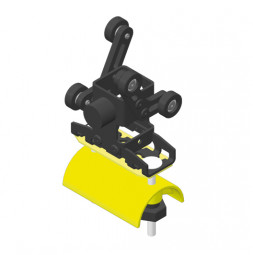 CARGO Trailing cable runner for flat cables