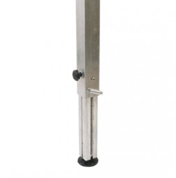 Telescopic Legs with Notched Stopper 60x60x3 mm