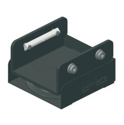CARGO: Polea de retorno, color negro