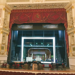 Test setup - realisation in German/English  Saxon State Opera, Dresden / Germany