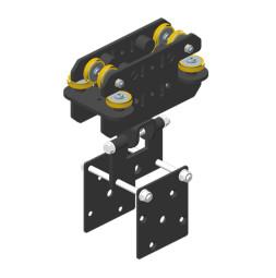 JOKER 95 Conducteur HD décor avec patte de conducteur suspension décor - partie inférieure