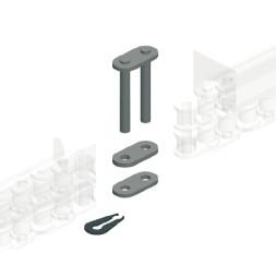 CUE-TRACK 2  Maillon rapide pour chaîne duplex