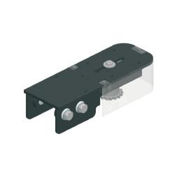 CUE-TRACK 2  Unité de renvoi 180° avec tendeur de chaîne intégré