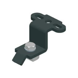 CUE-TRACK 2  Entretoise de suspension - profilé simple