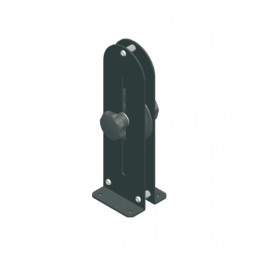 Adjustable Floor Pulley 180