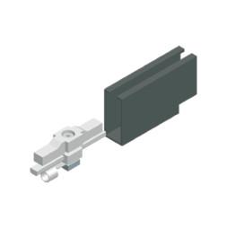 Power Terminal Block for Conductor Rail