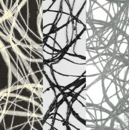Декоративная ткань CONTRA O, с округлым переплетением