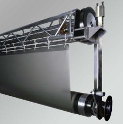 Углеродная роллерная система для проекционных экранов MEGASCREEN TOUR