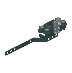 TRUMPF 95 с боковым тросом: Ведущая каретка c кронштейном для запáха занавеса