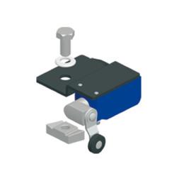 STUDIO/E: Концевой выключатель, установленный на направляющей