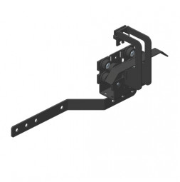 JOKER 95 с верхним тросом: Ведущая каретка с кронштейном для запáха занавеса / кронштейном для концевого выключателя