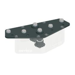 CUE-TRACK 2: Обводной блок 45°, универсальный