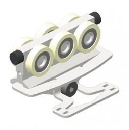 CARGO MICRO Conducteur HD / AL - variante A avec fixation de drisse pour guidage de drisse inférieur