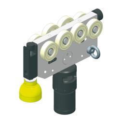 CARGO Conducteur avec support pour projecteur RESBIG one® et frein rotatif