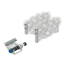 CARGO Arrêt à position variable avec amortisseur à gaz
