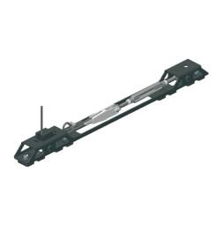 CARGO Suspension câble acier avec renvoi