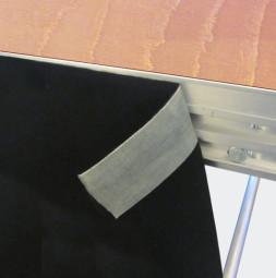 Tkanina za zakrivanje prostora ispod pozornice od scenskog moltona DECOMOLTON