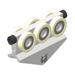 CARGO MICRO Nosivi kotačić velike nosivosti, model A