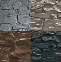 Obloga za umjetni zid THE WALL - BRICK - izgled hrapavog kamena
