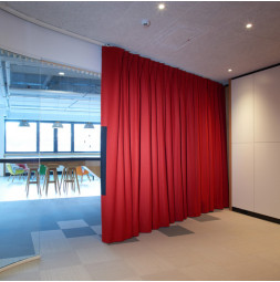 Sound Curtain OFFICE motorised