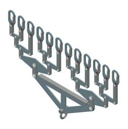 Distribucijski nosač, za 12 nosivih cijevi