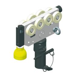 CARGO Scheinwerferlaufwagen mit TV-Zapfenaufnahme