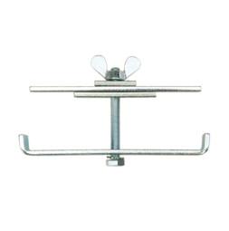 Verbindungsklammer für Steckfüße: 45x45 mm