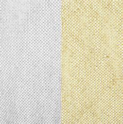 BROKAT - srebrny i złoty tiul