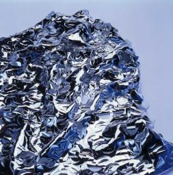 Bühnenlaub - srebrna siatka maskująca