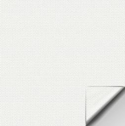 OPERA® biała perforowana MICRO folia do projekcji przedniej