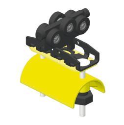 CARGO MICRO Wózek na kable trailingowe do kabli płaskich KB-50 mm