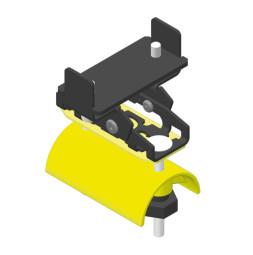 CARGO zacisk końcowy płaski kabel