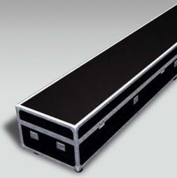 Skrzynia mobilna (flightcase) z rolkami