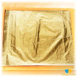 Szlagmetal, płatki ze złota i srebra