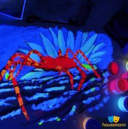 HATO® Tex, farby fluorescencyjne, widoczne