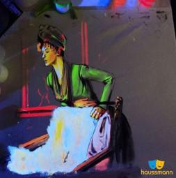 HATO® Tex, farby fluorescencyjne, niewidoczne