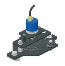 Polea de retorno de TRAC-DRIVE con encoder integrado