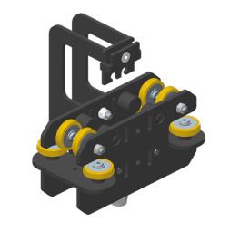 JOKER 95: Carro HD con fijación de cuerda, guiado superior