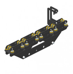 JOKER 95: Carro HD 260 con fijación de cuerda, guiado superior doble