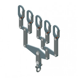 Balancín de carga de 5 segmentos