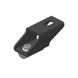 BELT-TRACK Suspension bracket with adjustable nut
