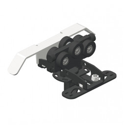 CARGO MICRO Master Runner with limit switch arm and cord mount for bottom cord operation