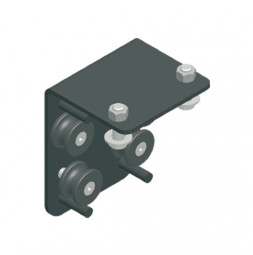 KING Center Crossover Cord Guide, Side Cord