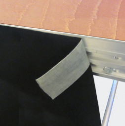 Stage skirt made of Duvetyne R 55