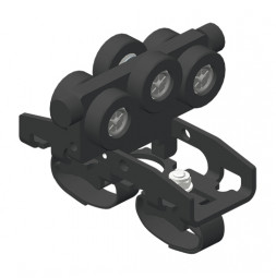 CARGO MICRO Trailing cable runner for round cable